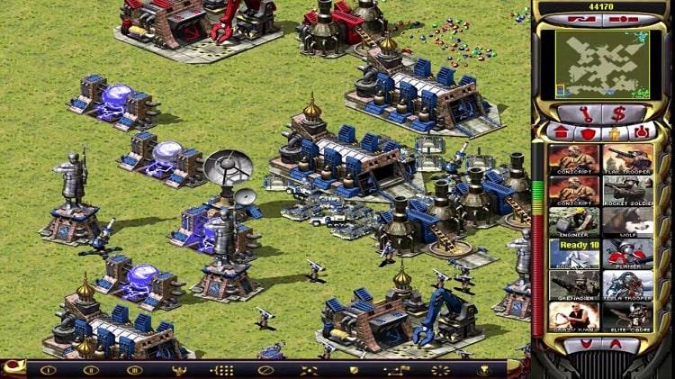 Download game Red Alert 2 Mod Battlezone full crack