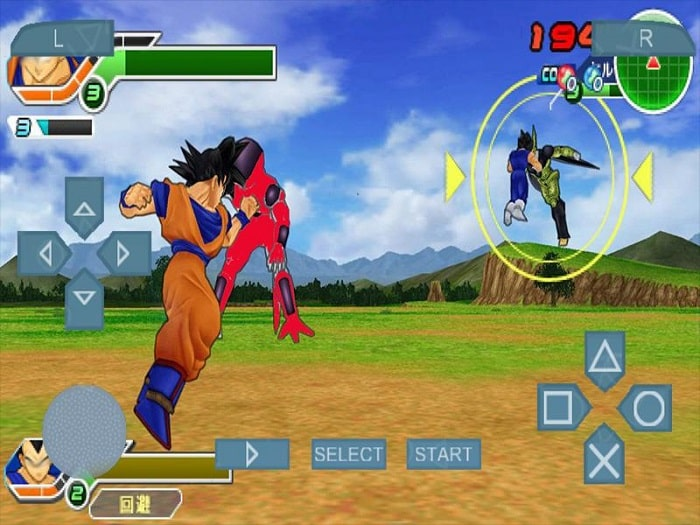 Tải game PPSSPP Dragon Ball Dragon