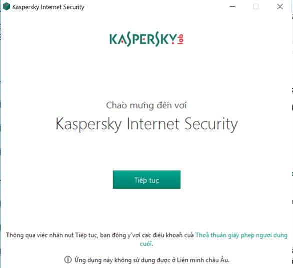 Hướng dẫn cài đặt Kaspersky Full Crack
