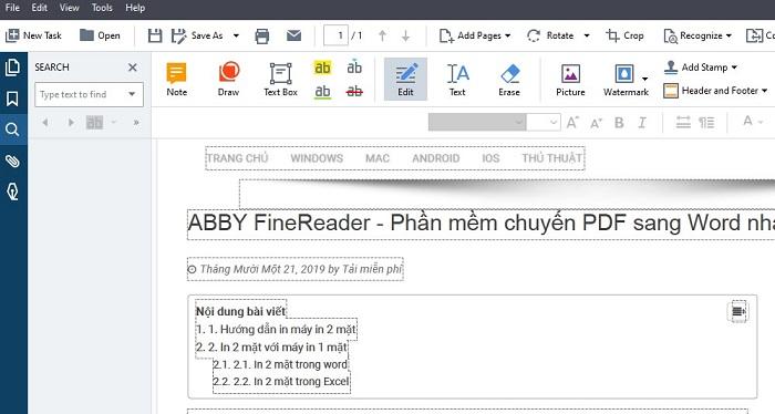 Hướng dẫn cài đặt Abbyy Finereader 15 Full Crack google drive lên máy