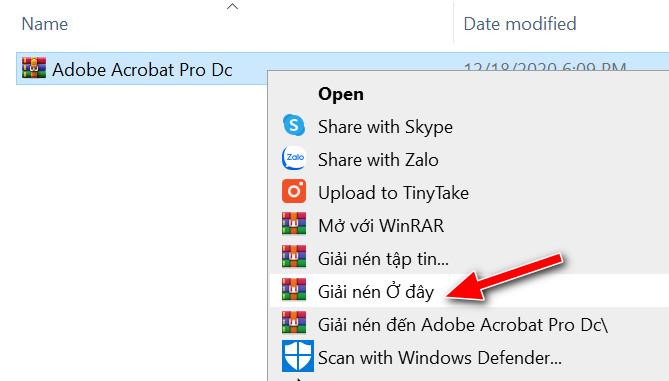 Cài đặt Adobe Acrobat Pro DC Full crack 2021