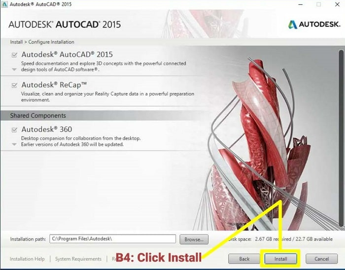 Tổng quan về Autocad 2015 full crack