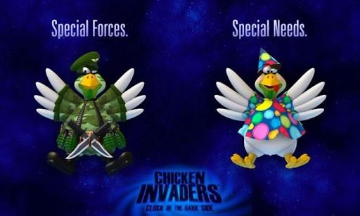 Cấu hình tối thiểu yêu cầu để cài Chicken invaders