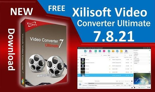 Phần mềm xilisoft video converter full crack