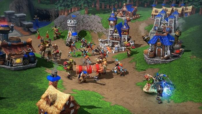 Cấu hình yêu cầu của game Warcraft 3 Reforged