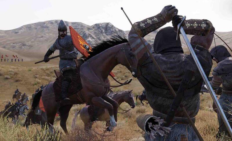 Giao diện thời trung cổ của tựa game mount and blade 2 full crack