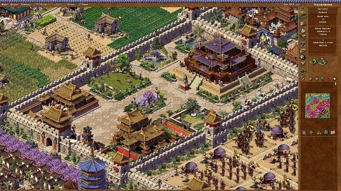 Emperor Rise of the Middle Kingdom việt hóa đã kế thừa những điều tốt của dòng game xây dựng đặc trưng của Sierra