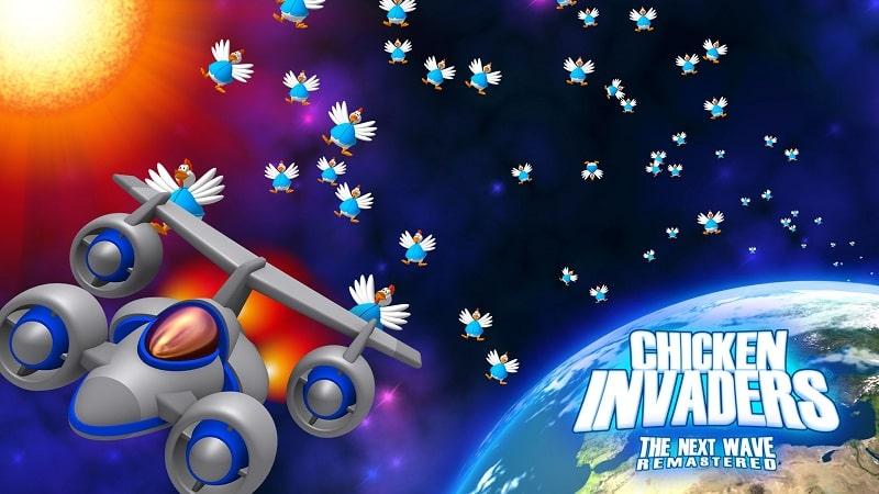 Game bắn gà - chicken invaders 4 full crack Download cho PC