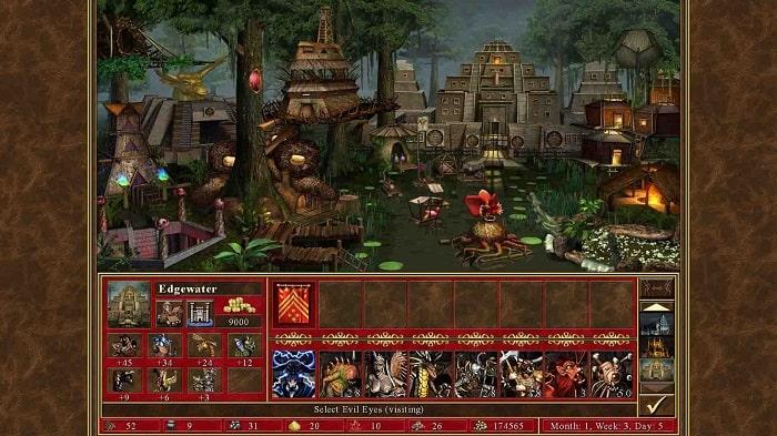 Cấu hình yêu cầu để tải và chơi game heroes of might and magic 3 việt hóa trên máy
