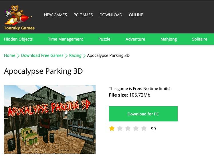 Cấu hình tối thiểu để download game