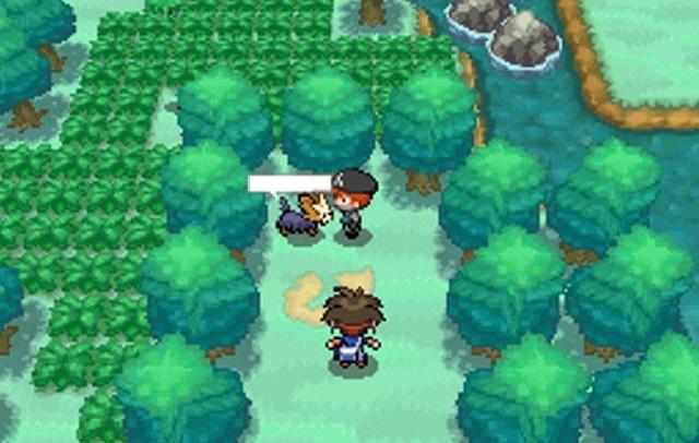 Khung cảnh trong Pokemon black 2 việt hóa