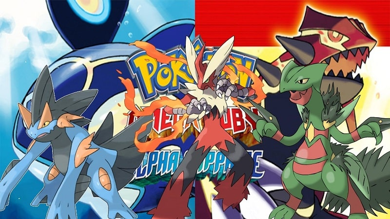 Bối cảnh của game Pokemon Omega Ruby việt hóa