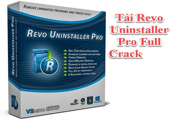 Revo uninstaller full crack hỗ trợ gỡ các ứng dụng cứng đầu