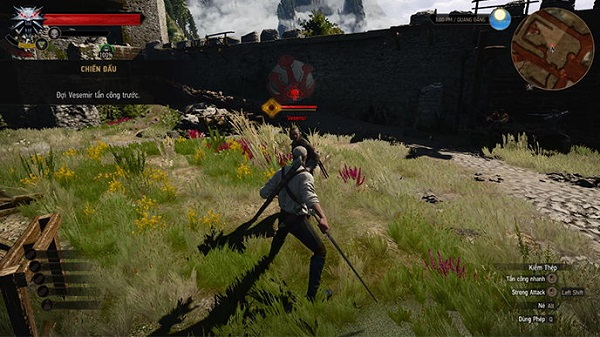 Cốt truyện trong game The witcher 3 wild Hunt