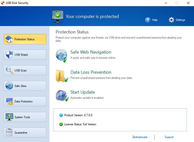 Các bước để cài đặt USB Disk Security full crackvô cùng đơn giản